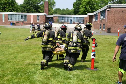 USRFD hosts North West Bergen Mutual Aid Field Day