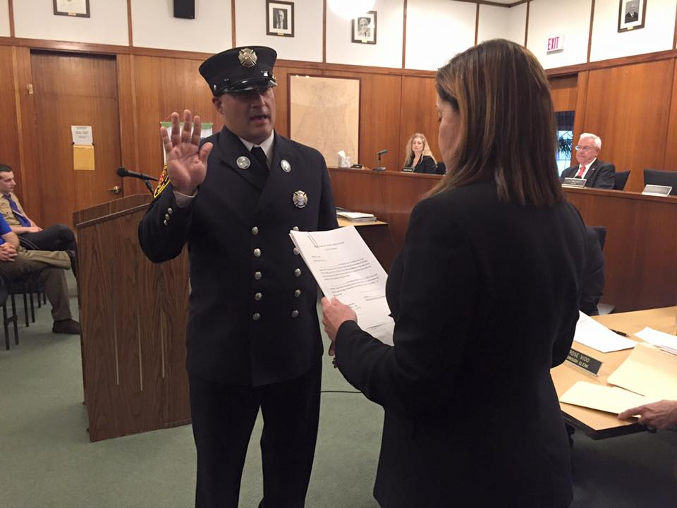 New Lieutenant Sworn In!